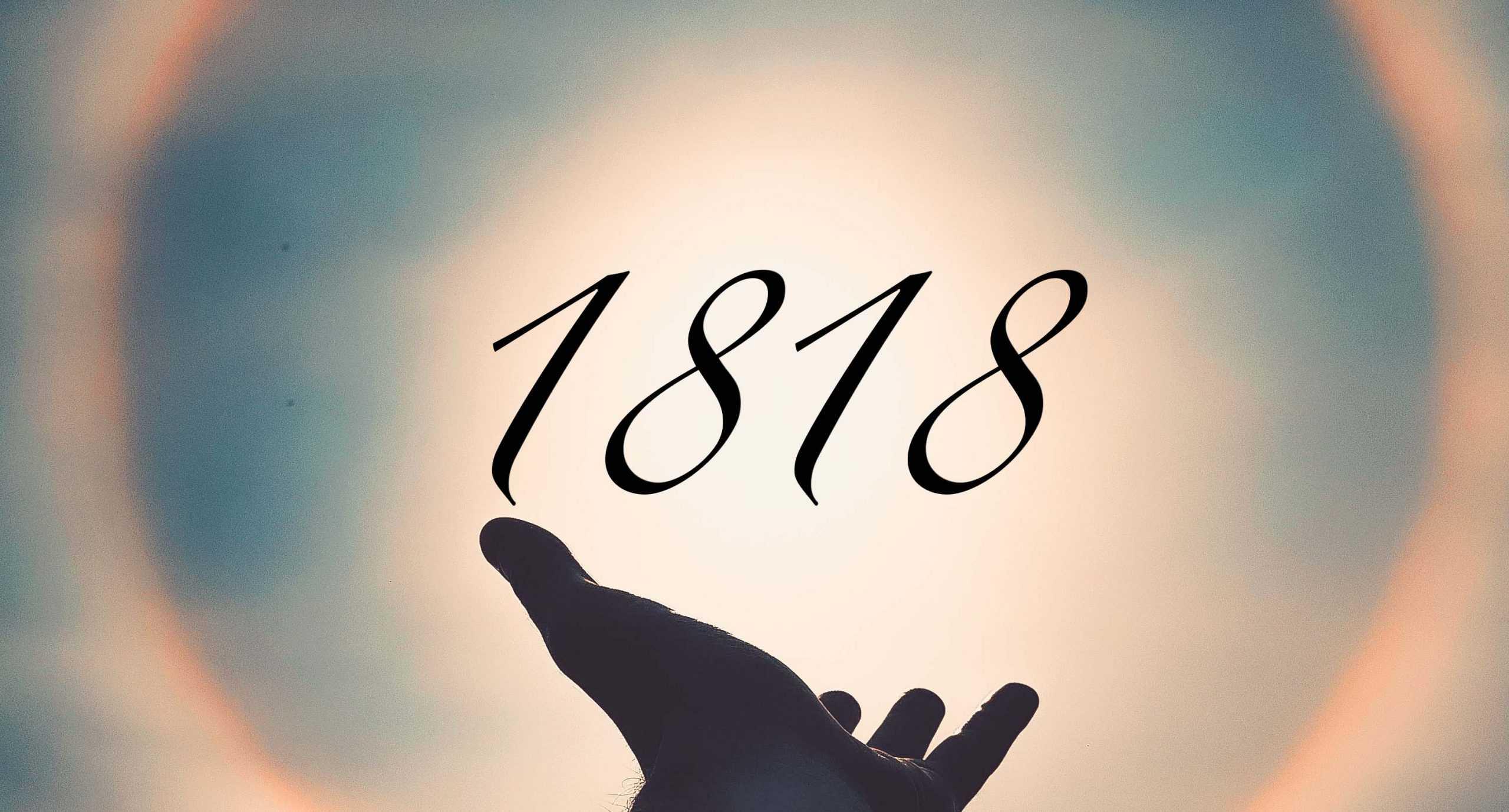 Signification du nombre 1818